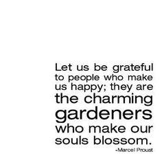 Let's be thankful for the little things